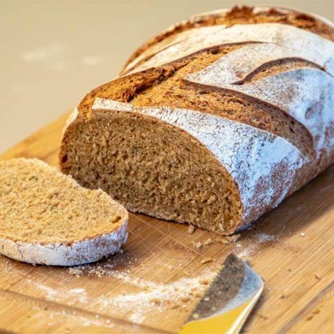 Kváskový chlieb z jednozrnky