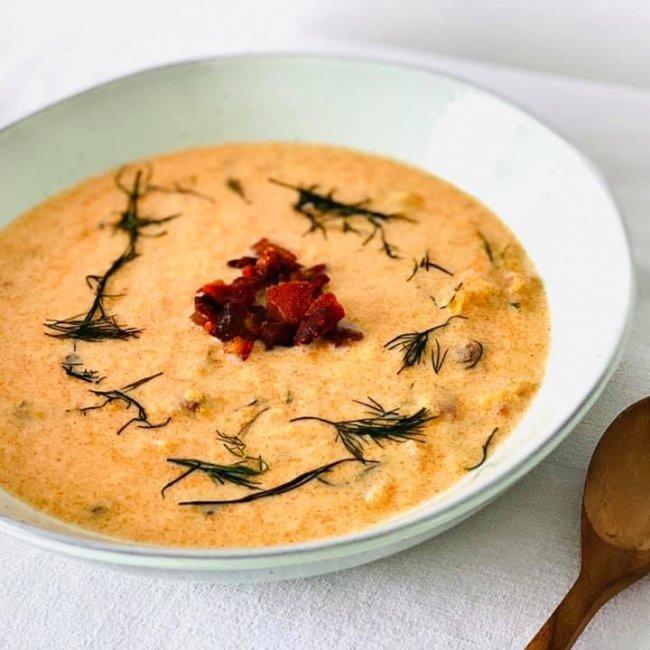 Hontianska tekvicová polievka