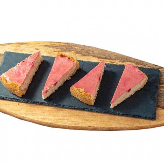Ríbezľový cheesecake z ovčej ricotty